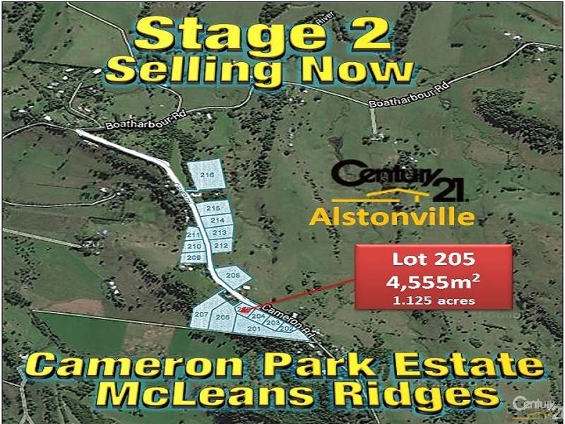 LOT 205 CAMERON ROAD, McLeans Ridges - House for Sale in McLeans Ridges