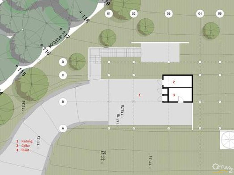 Site Plan, proposed dwelling - 64 Explorers rd, Katoomba - Land for Sale in Katoomba