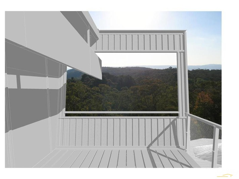 Potentail view from front deck - 64 Explorers rd, Katoomba - Land for Sale in Katoomba