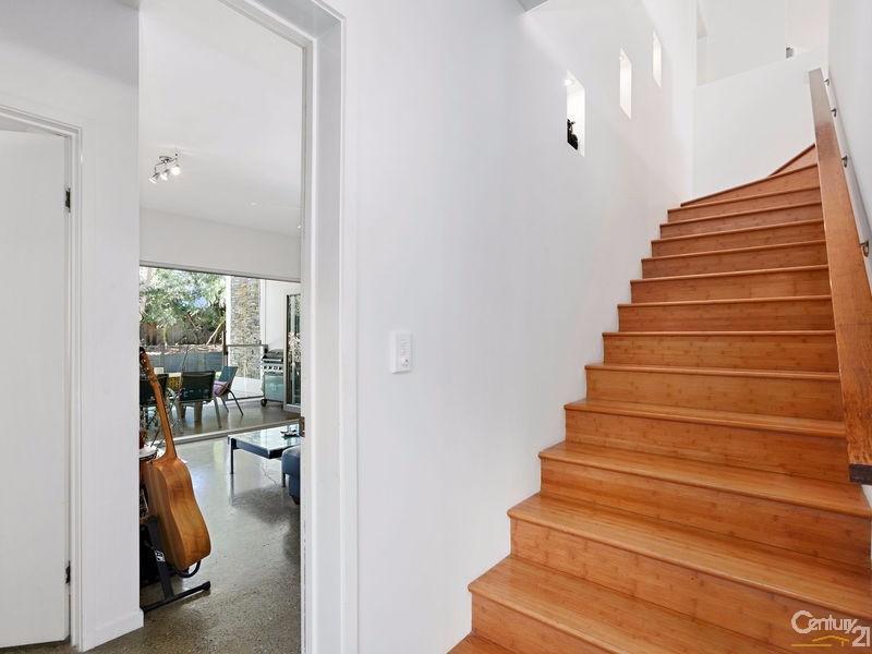 Elegant entry foyer to upper & lower living spaces - 16 Ross Crescent, Sunshine Beach - House for Sale in Sunshine Beach