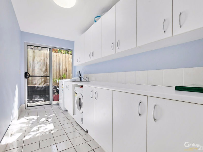 Plenty of storage in full laundry with adjoining drying area - 16 Ross Crescent, Sunshine Beach - House for Sale in Sunshine Beach