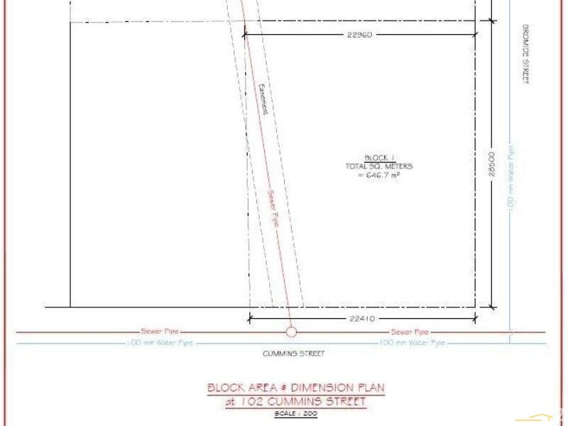 Lot 1 102 Cummins Street, Broken Hill - Land for Sale in Broken Hill