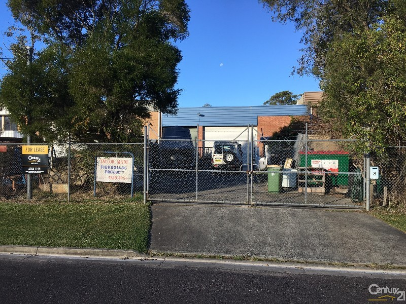 8 Wollong Street, Gosford - Industrial Property for Lease in Gosford