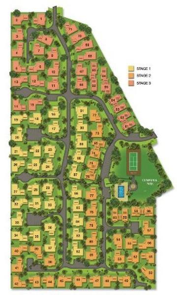 LOT 48 ON SITE PLAN - 2 Second Close Seabreeze Estate, Bowen - Holiday House Rental in Bowen