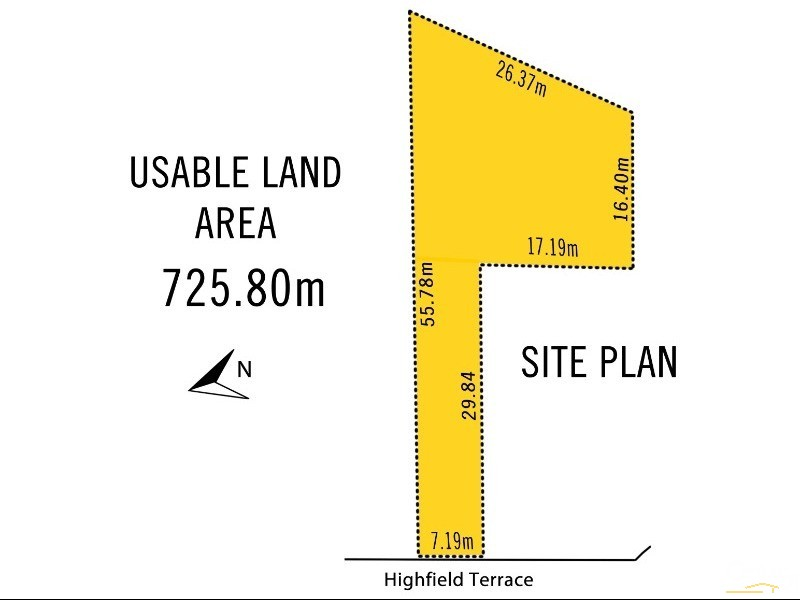 LOT 8a Highfields Terrace, Cardiff Heights - House & Land for Sale in Cardiff Heights