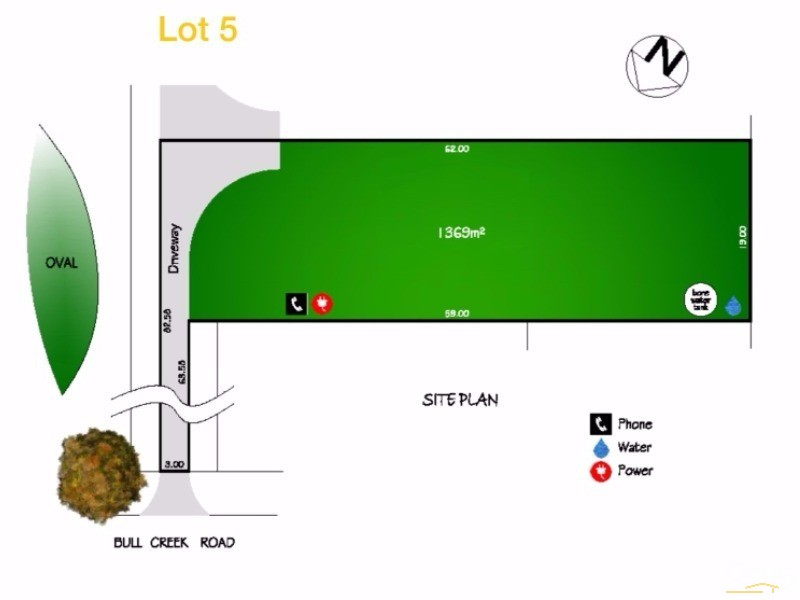 Lots 5 and 6 Bull Creek Road, Ashbourne - Land for Sale in Ashbourne