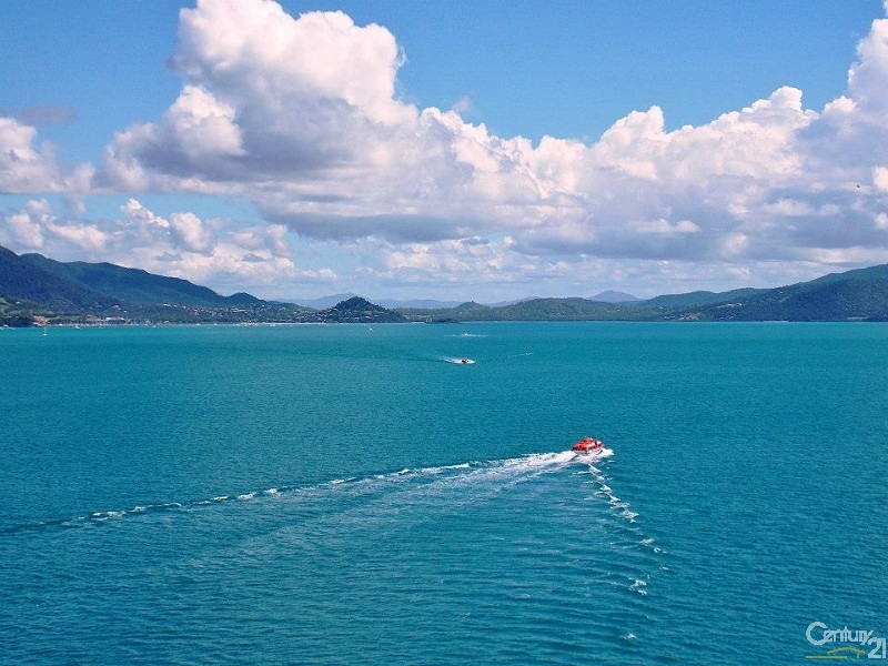 Airlie Beach from the ocean - Lot 2 Shute Harbour Road, Flametree - Vacant Land for Sale - Rural Property in Flametree