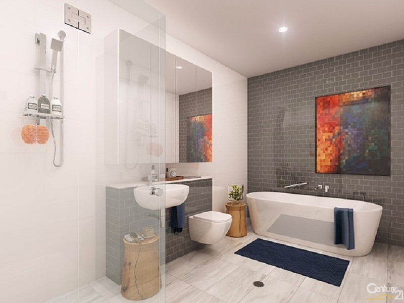 Bathroom - 33 Kent Street, Mascot - Apartment for Sale in Mascot