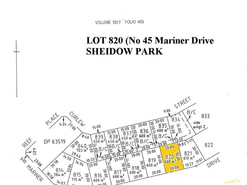 45 Mariner Drive, Sheidow Park - Land for Sale in Sheidow Park