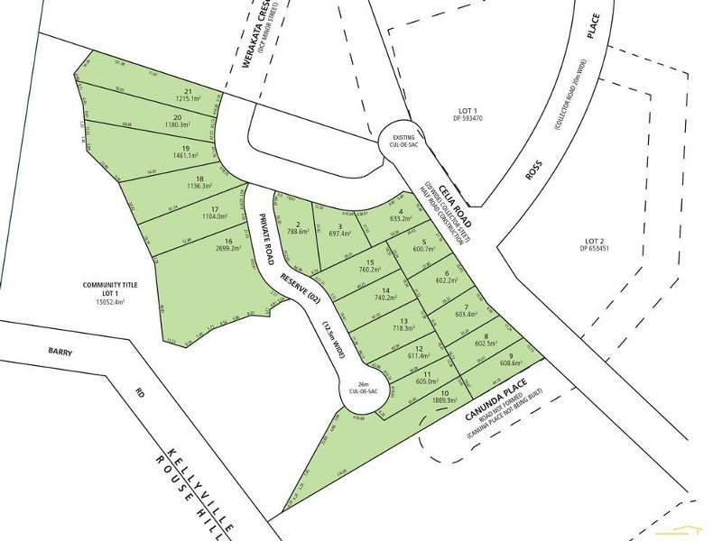 Lots on 4-6 Celia Rd, Kellyville - Land for Sale in Kellyville