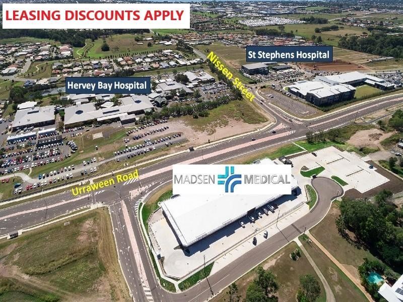 Madsen Medical Centre Hervey Bay, Urraween - Medical/Consulting Property for Lease in Urraween
