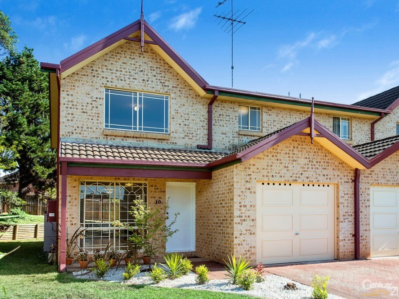 10A Brokenwood Place, Cherrybrook - Duplex for Sale in Cherrybrook