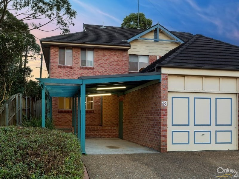 13/29 Haven Court, Cherrybrook - Townhouse for Rent in Cherrybrook