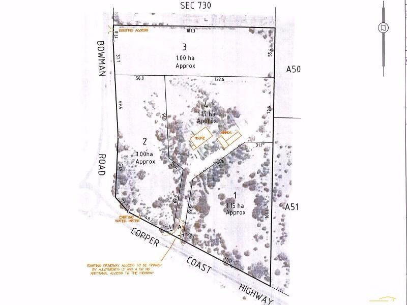 Lot 1 5538 Copper Coast Highway, Wallaroo - Land for Sale in Wallaroo