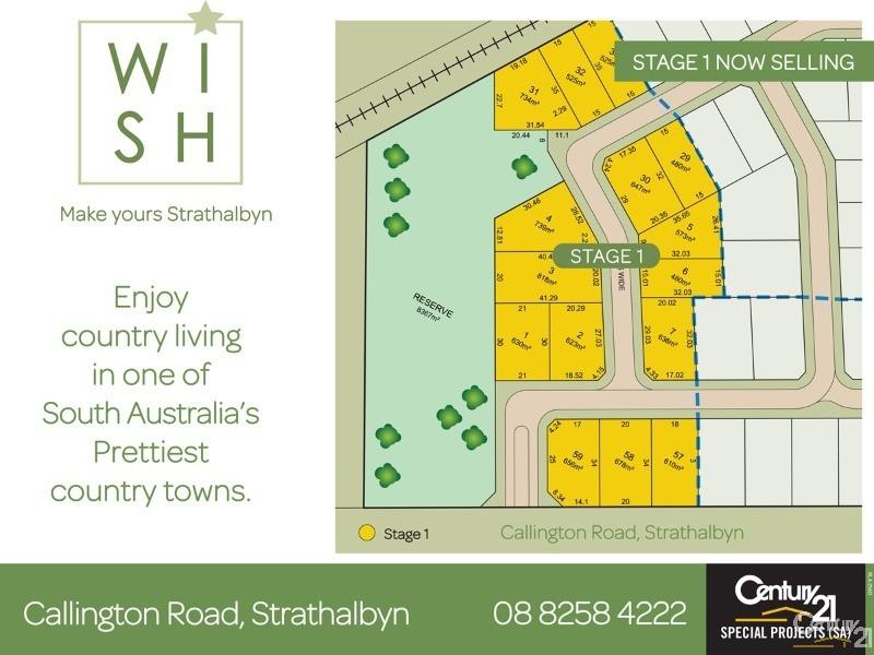 Lot 58 New Road, Strathalbyn - Land for Sale in Strathalbyn