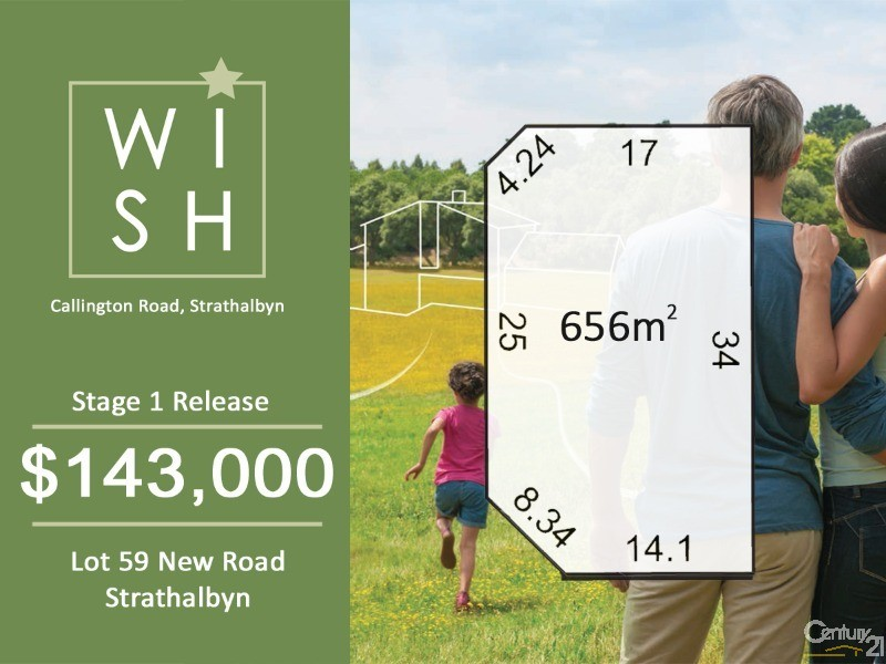 Lot 59 New Road, Strathalbyn - Land for Sale in Strathalbyn