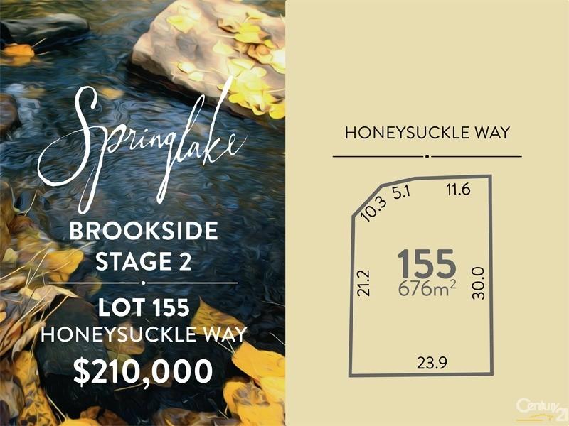 Lot 155 Honeysuckle Way, Mount Barker - Land for Sale in Mount Barker
