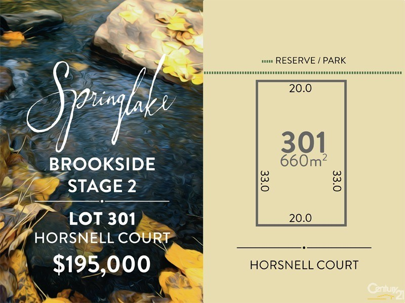 Lot 301 Horsnell Court, Mount Barker - Land for Sale in Mount Barker