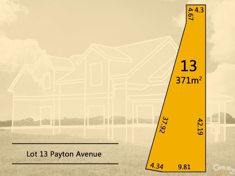 Lot 13 Payton Avenue, Dernancourt - Land for Sale in Dernancourt