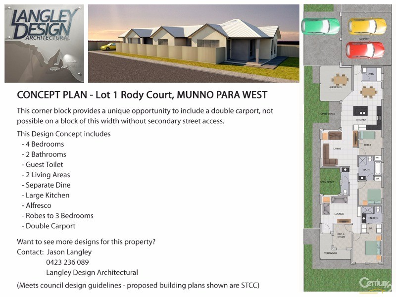 1 Rody Court, Munno Para West - Land for Sale in Munno Para West