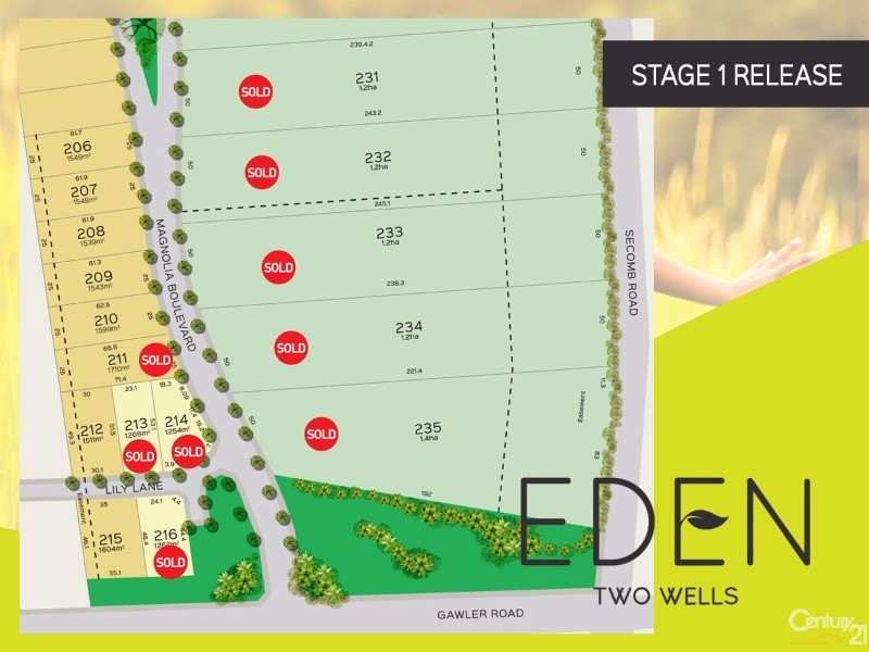 Lot 39 Gawler Road, Two Wells - Land for Sale in Two Wells