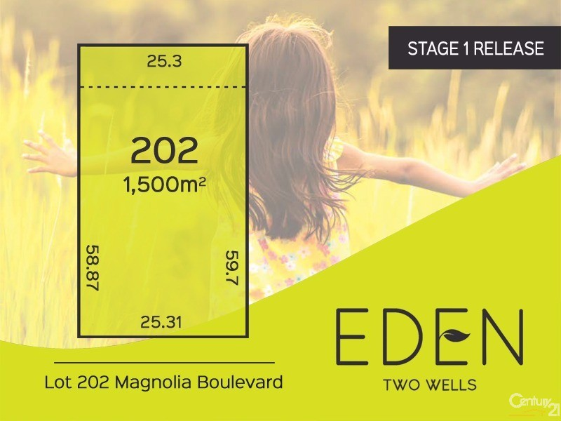 Lot 202 Magnolia Boulevard, Two Wells - Land for Sale in Two Wells