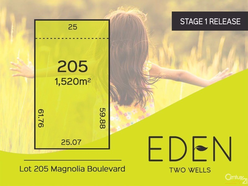 Lot 205 Magnolia Boulevard, Two Wells - Land for Sale in Two Wells