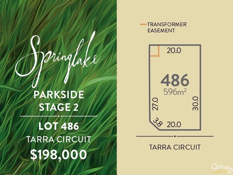 Lot 486 Tarra Circuit, Mount Barker - Land for Sale in Mount Barker
