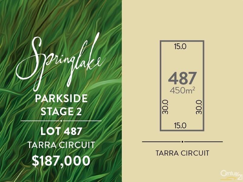 Lot 487 Tarra Circuit, Mount Barker - Land for Sale in Mount Barker