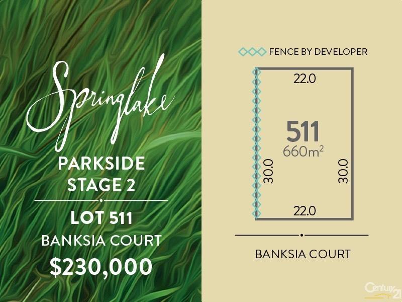Lot 511 Banksia Court, Mount Barker - Land for Sale in Mount Barker