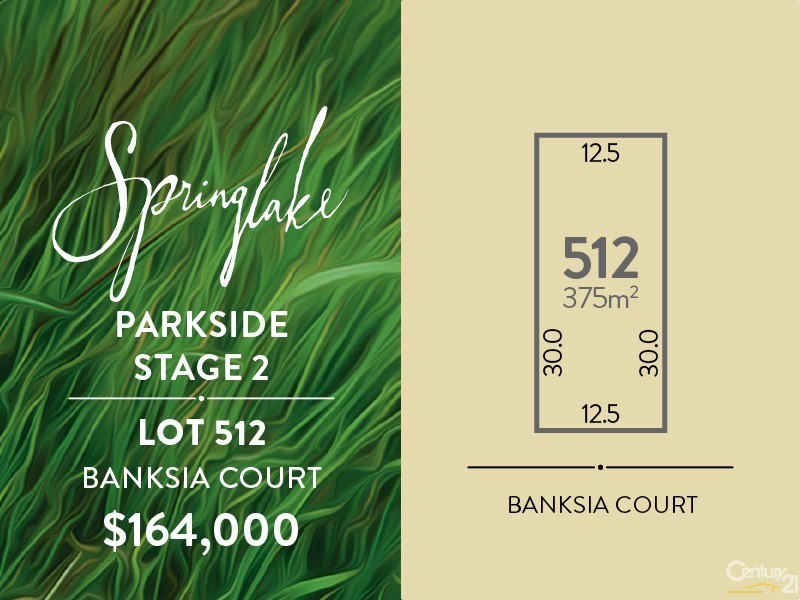 Lot 512 Banksia Court, Mount Barker - Land for Sale in Mount Barker