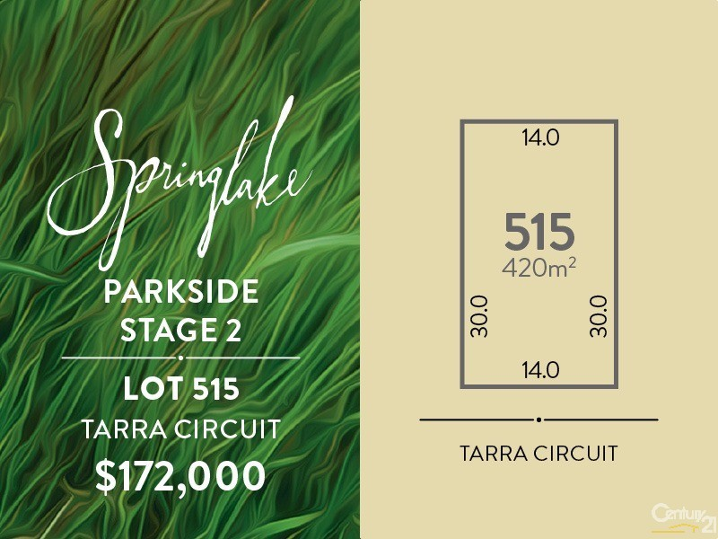 Lot 515 Tarra Circuit, Mount Barker - Land for Sale in Mount Barker