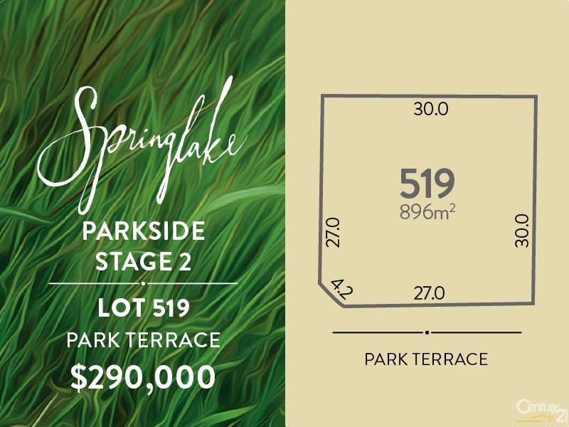 Lot 519 Park Terrace, Mount Barker - Land for Sale in Mount Barker
