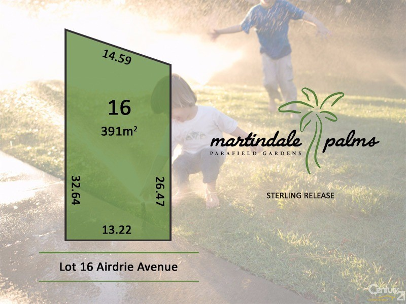 Lot 16 Airdrie Avenue, Parafield Gardens - Land for Sale in Parafield Gardens