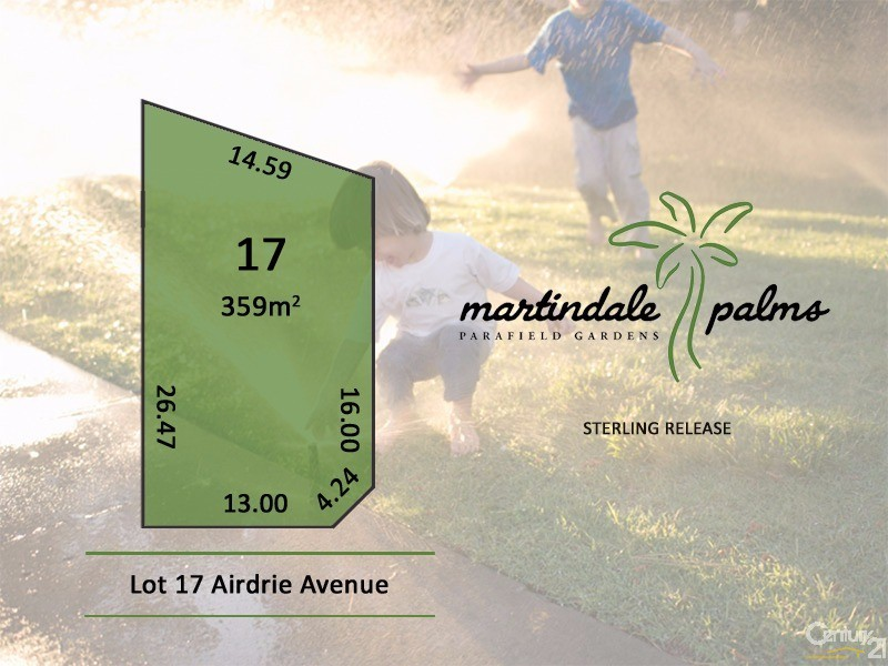 Lot 17 Airdrie Avenue, Parafield Gardens - Land for Sale in Parafield Gardens