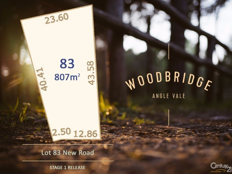 Lot 83 Woodbridge Drive, Angle Vale - Land for Sale in Angle Vale