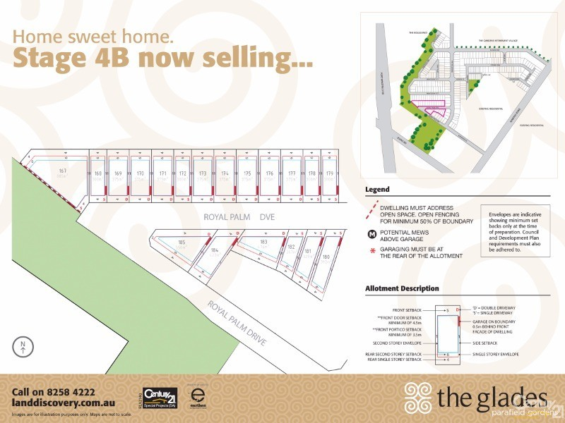 Lot 185 Royal Palm Drive, Parafield Gardens - Land for Sale in Parafield Gardens