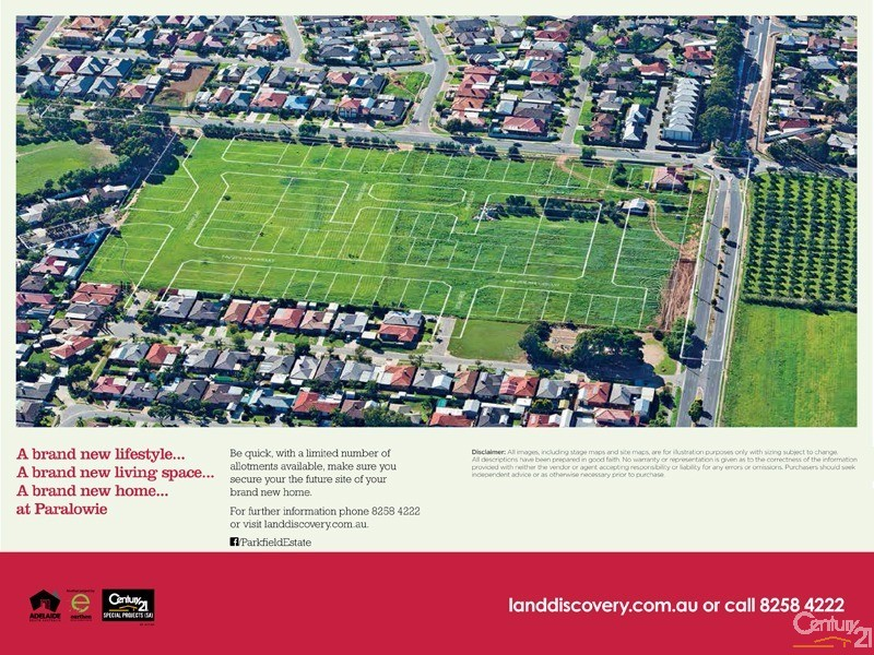 Lot 46 Parkfield Loop, Paralowie - Land for Sale in Paralowie