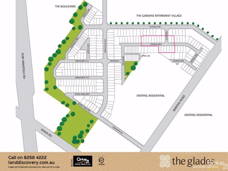 Lot 208 Cypress Drive, Parafield Gardens - Land for Sale in Parafield Gardens
