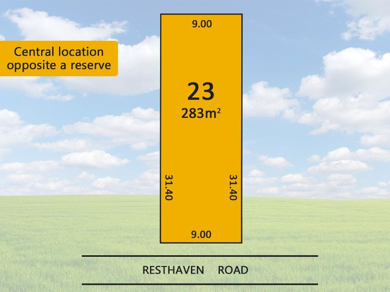 23 Resthaven Road, Parafield Gardens - Land for Sale in Parafield Gardens