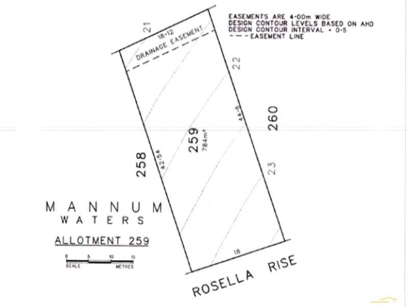 Lot 259 Rosella Rise, Mannum Waters, Mannum - Land for Sale in Mannum