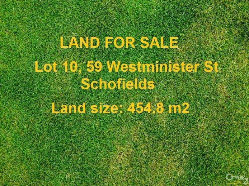 59 Westminister Street, Schofields - Land for Sale in Schofields