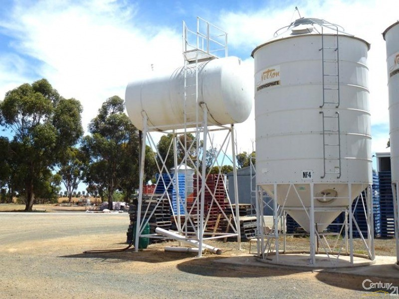 9,500 lt Diesel storage capacity - 0 Superior Seed Co. Barham Rd, Deniliquin - Rural Property for Sale in Deniliquin