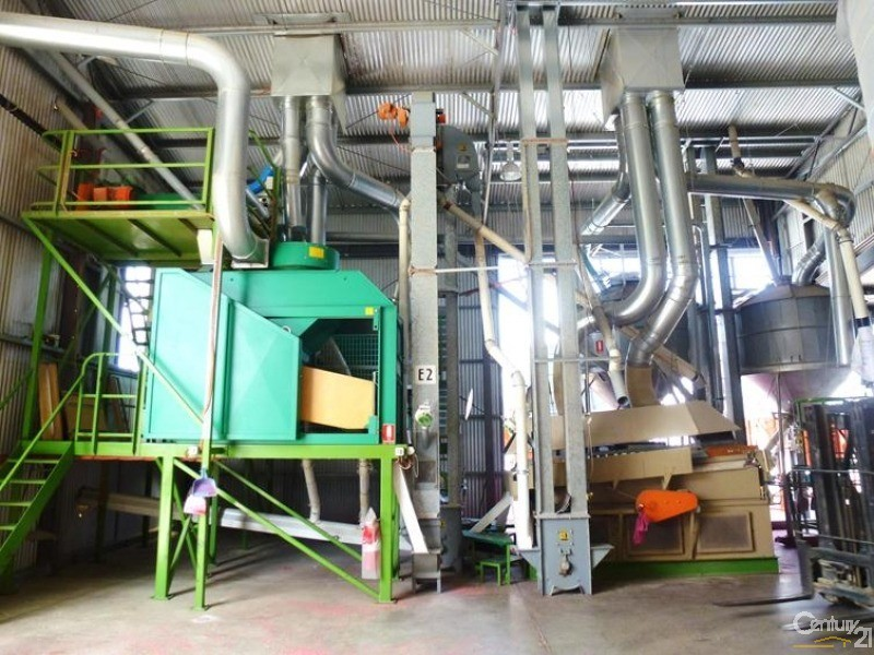 QA accredited cleaning plant purposely designed by Satake. - 0 Superior Seed Co. Barham Rd, Deniliquin - Rural Property for Sale in Deniliquin
