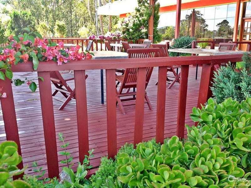 THE OUTDOOR SEATING AREA - 254 Tarean Rd, Karuah - Restaurant for Sale in Karuah