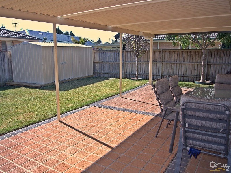 Large outdoor entertaining area - 4 Fidden Place, Tea Gardens - House for Sale in Tea Gardens