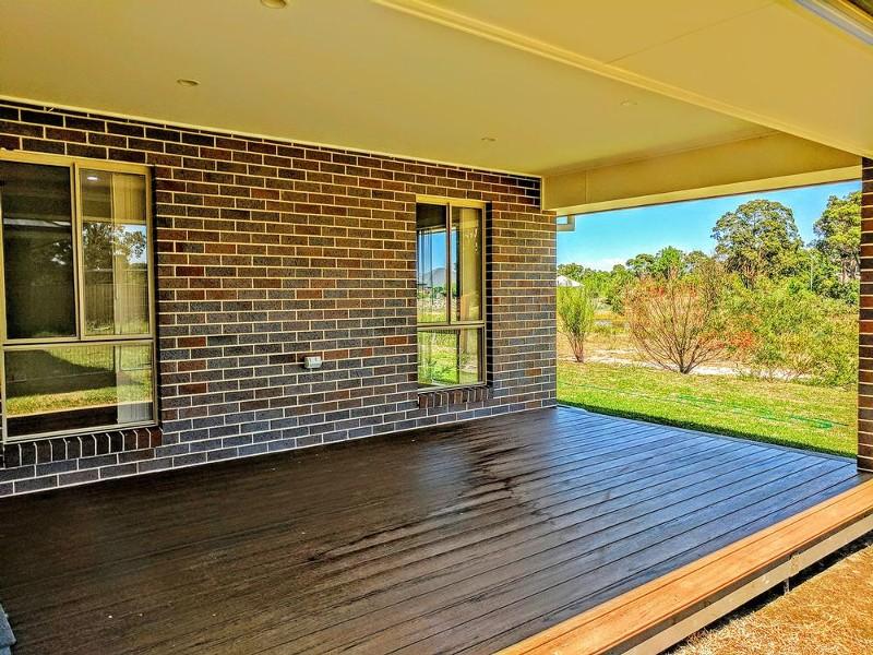 The deck is huge - 25 Leeward Ct, Tea Gardens - House for Sale in Tea Gardens