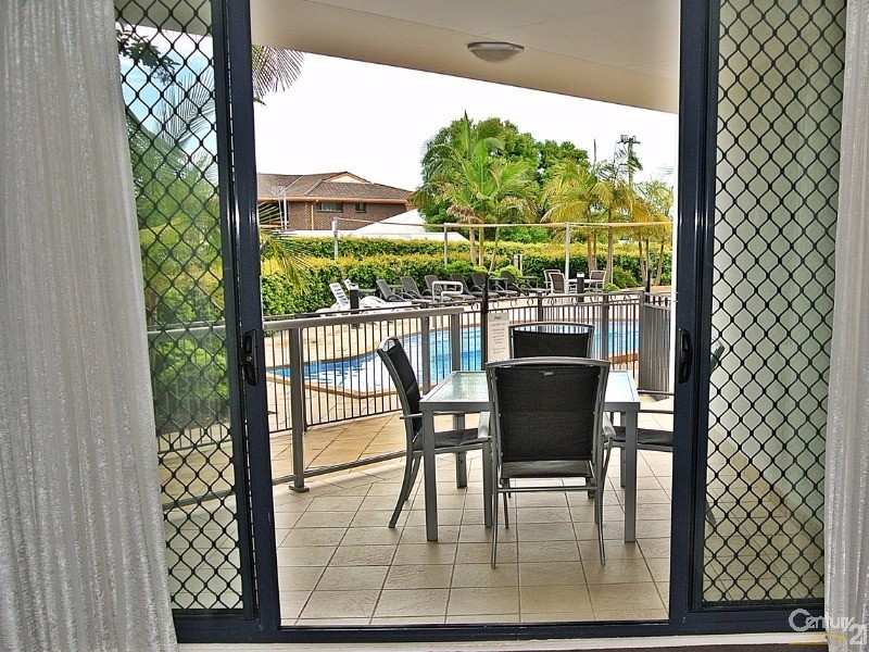 Balcony to swimming pool - 5/ 21-23 Marine Dr, Tea Gardens - Unit for Sale in Tea Gardens
