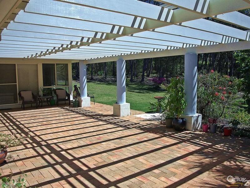 Outdoor paved patio - 5 Kooraru Close, Tea Gardens - House & Land for Sale in Tea Gardens