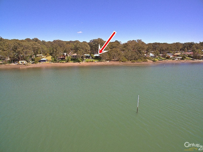 SEEN FROM THE WATER - 56 Eastslope Way, North Arm Cove - House for Sale in North Arm Cove